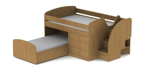 captain jack bunk bed assembly instructions